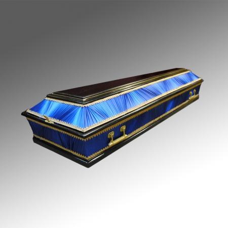 Гробы полированные