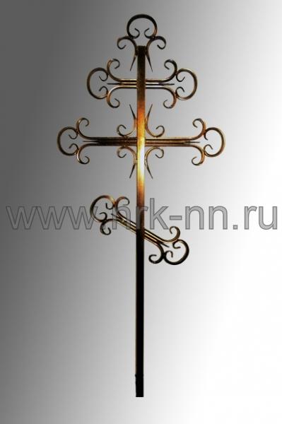 Крест хромированный