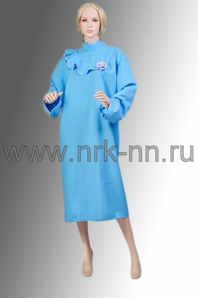 Платье габардиновое