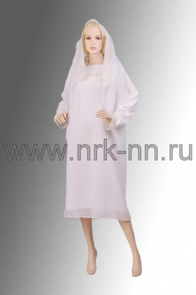 Комплект платье+шарф