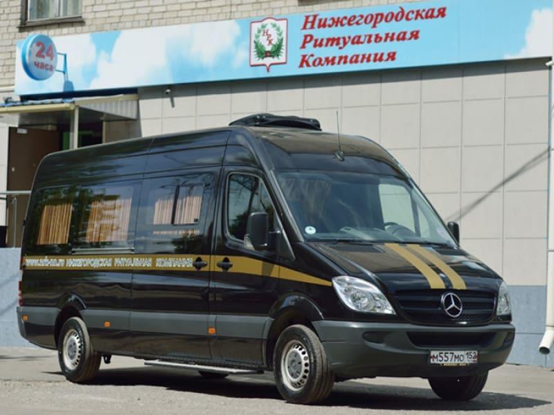 Kатафалк Mercedes 13 посадочных мест