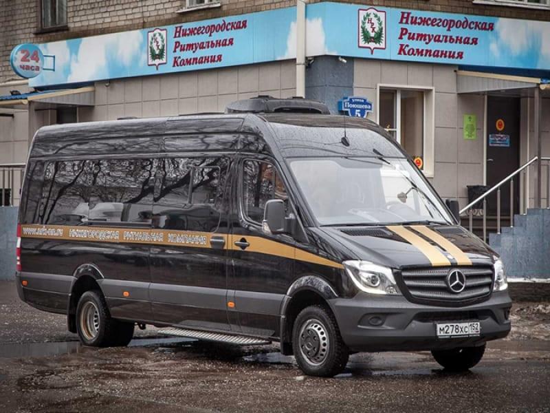 Kатафалк Mercedes-Maxi 15 посадочных мест